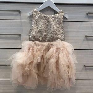H&M girls party dress